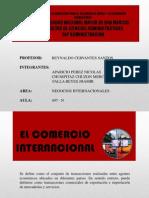 Importaciones y Exportacion Oficial