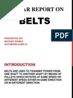 Belts PRESENTATION