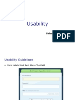 Usability 2 ppt