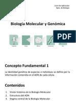 Biología Molecular y Genómica