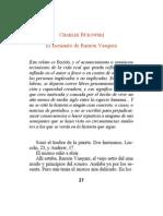 Bukowski, Charles - El asesinato de Ramón Vasquez