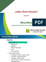 Way2wealth Steel 27Sep10