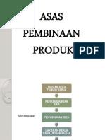 Asas Pembuatan Produk