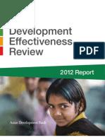 2012 Development Effectiveness Review
