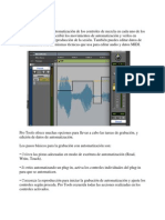 Automatización pro tools