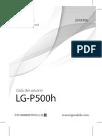 Manual Lg p500h