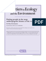 Anthropogenic Biomes of the World