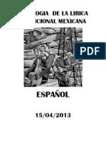 ANTOLOGIA  DE LA LIRICA TRADICIONAL MEXICANA.docx
