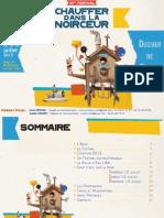festival Chauffer Dans La Noirceur 2013 - dossier de Presse