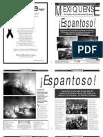 Versión impresa del periódico El mexiquense 8 mayo 2013