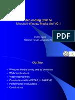 9. Video Coding (VC-1)