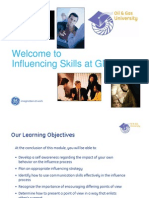 Influencing Skills Communication