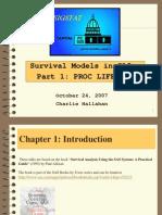Survival Part 1