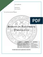 Análisis de Radiografía Panorámica 1B