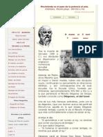 Diógenes de Sinope, breve biografía