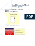Washington DC Record of Deeds Search Guide