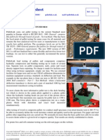 21a Pallet Load Testing to en ISO 8611