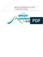 Smart Mountaineering Club CONSTITUTION_v2.0