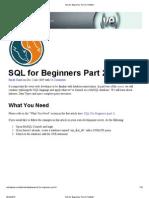 SQL for Beginners Part 2 _ Nettuts