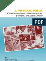 Media and the Nepali Public 2012