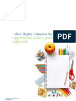 Indian Higher Education Sector-Deloitte Report-2012 Report