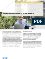 Single Sign on SAP Architektur