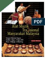 Poster Alat Muzik Tradisional