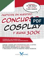 AF Cartel Concurso Cosplay
