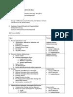 Course Outline MBA Compensation Management (1)