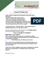 Proposal Writing Tips (Eng)