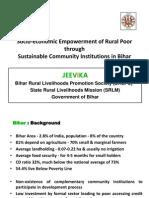 Socio-Economic Empowerment of Rural Poor Bihar