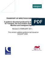 Transport of Infectious Substances