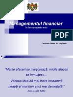Managementul financiar în întreprinderile mici