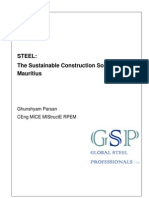Sustainable Steel in Mauritius