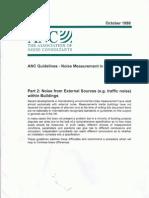 ANC Guidelines 9801 - Noise Measurement in Buildings - Part 2 Noise from external sources.pdf