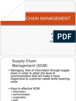 Suppply Chain Management