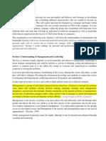 personal development Assignment Draft 08022013