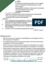 Group Technology (GT)