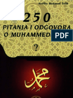 250 Pitanja i Odgovora o Muhammedu Alejhis-selam