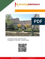 Brochure Crosestein 3525 te Zeist