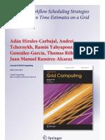 Tchernykh Workflow Scheduling With User Estimate 2012 Journal Grid Computing