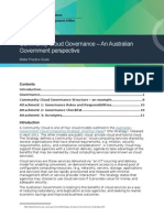 Community Cloud Governance Better Practice Guide