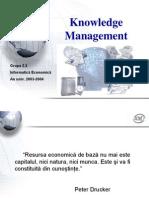 Managementul Cunostintelor