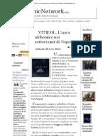 VITRIOL. L'Uovo Alchemico Nei Sotterranei Di Napoli - GothicNetwork