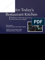 skills for todays restaurant kitchen-ruth hegartyeuro-toques