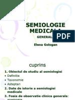 Curs 1 Semiologie