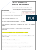 Report Writing Style Guide[1]