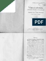 Dumitru Staniloae - Viata Si Activitatea Patriarhului Dosofteiu Al Ierusalimului