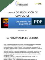8. TALLER DE RESOLUCI+ôN DE CONFLICTOS