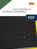 Solutions Pour l'Usinage Des Materiaux Composites